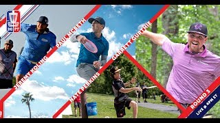 Disc Golf Pro Tour: The Waco Charity Open - Round Three