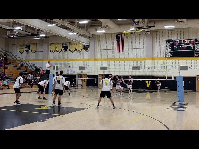 2019 NJ Boys Volleyball, South Brunswick vs Old Bridge Game2
