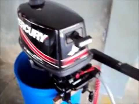 Mercury 5 hp outboard 2 strokes 2011 youtube for Mercury 2 5 hp outboard motor for sale