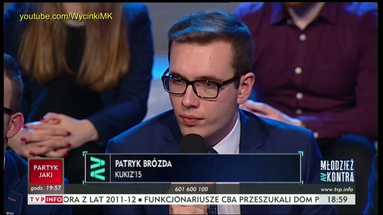 Młodzież kontra 623: Patryk Brózda (Kukiz'15) vs ks. prof. Wojciech Zyzak i o. Stanisław Tasiemski
