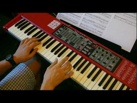 How to play Eleanor Rigby Beatles Strings Keyboard Isolated Strings