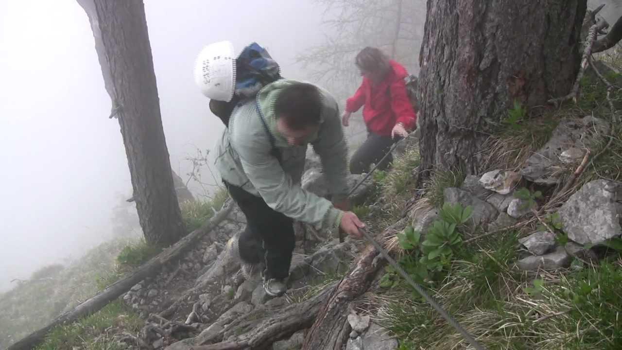 Klettersteig Traunstein : Traunstein klettersteig.mpg youtube