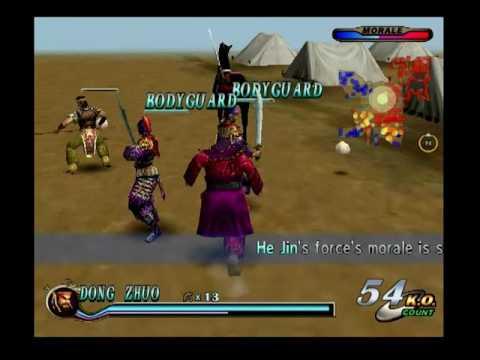 Dynasty Warriors 2 - The Yellow Turban Rebellion - He Jin Forces: Dong Zhuo (Español)