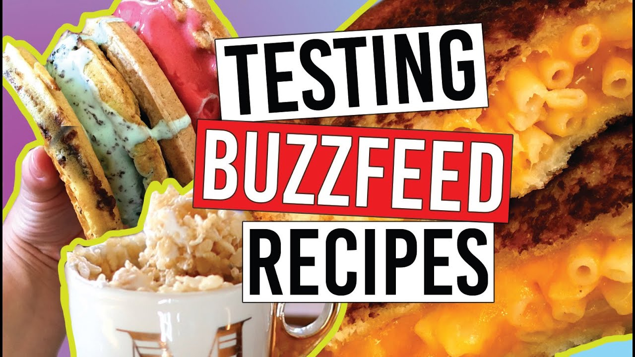 Buzzfeed recipes you need to try easy simple youtube forumfinder Choice Image