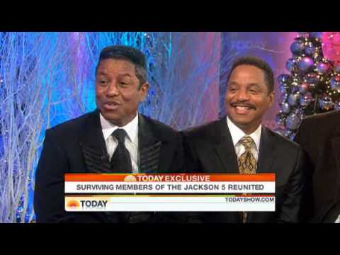 Jackson Five Brothers on TODAY Show - December 3, 2009