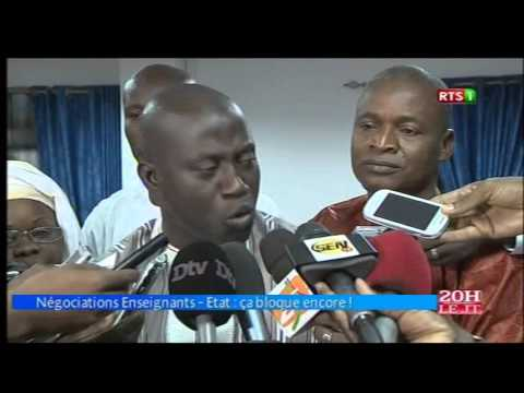 Journal Télévisé 20H de la RTS1 du samedi 07 mai 2016