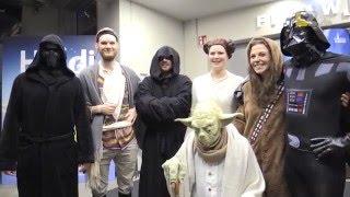 Star Wars-Premiere in der Filmwelt Lippe