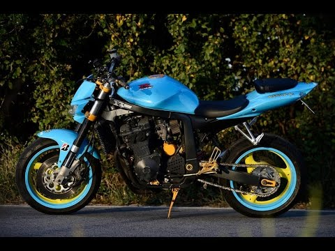 How to make custom streetfighter from old 750 Gsxr