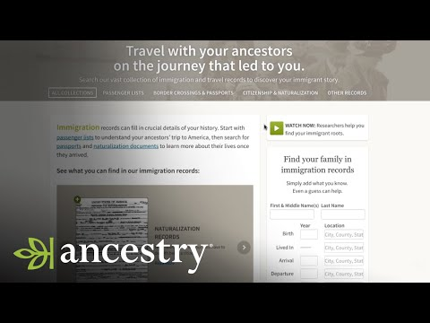 Start Searching Immigration Records for Your U.S. Ancestors | Ancestry Academy