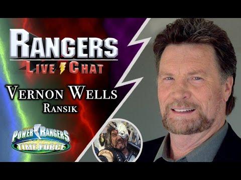 Power Rangers Time Force - Promo shot of Vernon Wells  |Vernon Wells Power Rangers