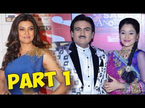 Sab Ke Anokhe Awards 2015   Dilip Joshi, Disha Vakani   Red Carpet PART 1