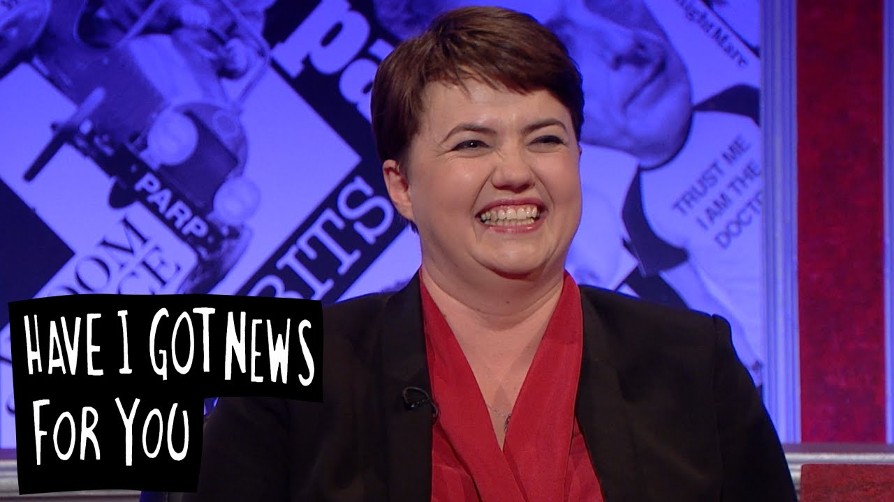 Reading Ruth Davidson's Tweets - Have I Got News For You ...