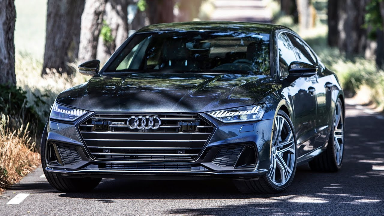 BEST LOOKING AUDI EVER? - 2019 AUDI A7 SPORTBACK in BLACK OPTICS  (340hp/500Nm/V6Turbo) S-LINE