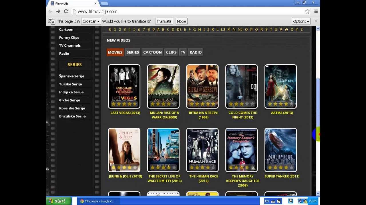 Filmovi odrasle filmovizija za Movies