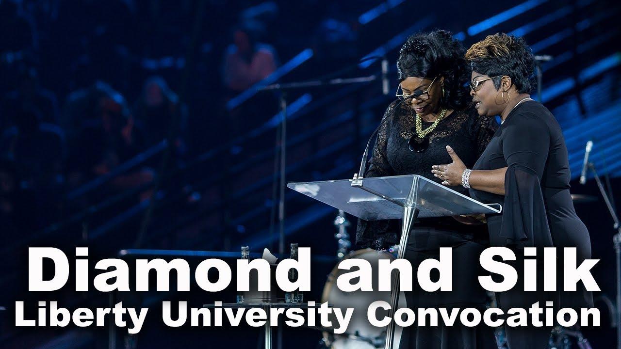 Diamond and Silk - Liberty University Convocation