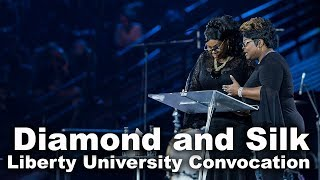 Diamond and Silk - Liberty University Convocation