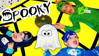 PJ Masks SPOOKY HALLOWEEN GAMES Special & Paw Patrol Mission