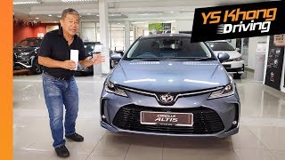 All-New 2019 Toyota Corolla Altis [Sneak Preview] Before Launch | YS Khong Driving