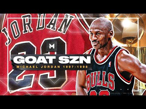 Michael Jordan ULTIMATE 1997-98 Season Highlights - THE LAST DANCE!   GOAT SZN