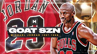 Michael Jordan ULTIMATE 1997-98 Season Highlights - THE LAST DANCE! | GOAT SZN