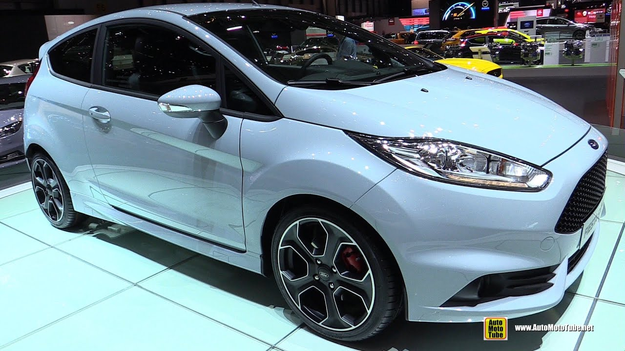 2017 ford fiesta st 200 exterior walkaround 2016 geneva motor show youtube. Black Bedroom Furniture Sets. Home Design Ideas