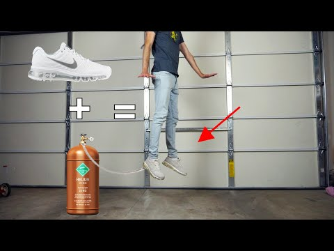 Putting Helium in Nike Air Max—Are They Lighter?