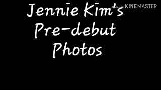 JENNIE KIM(Blackpink): Pre- debut Journey