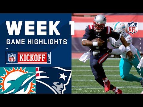 Dolphins vs. Patriots Week 1 Highlights   NFL 2020