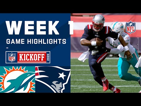 Dolphins vs. Patriots Week 1 Highlights | NFL 2020