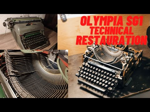 Olympia SG1 1953-72 Cleaning (technical Restoration)