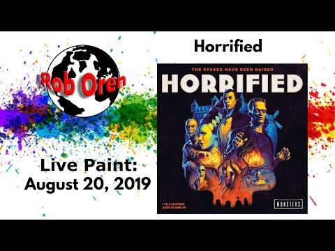 Rob Paints Horrified Live