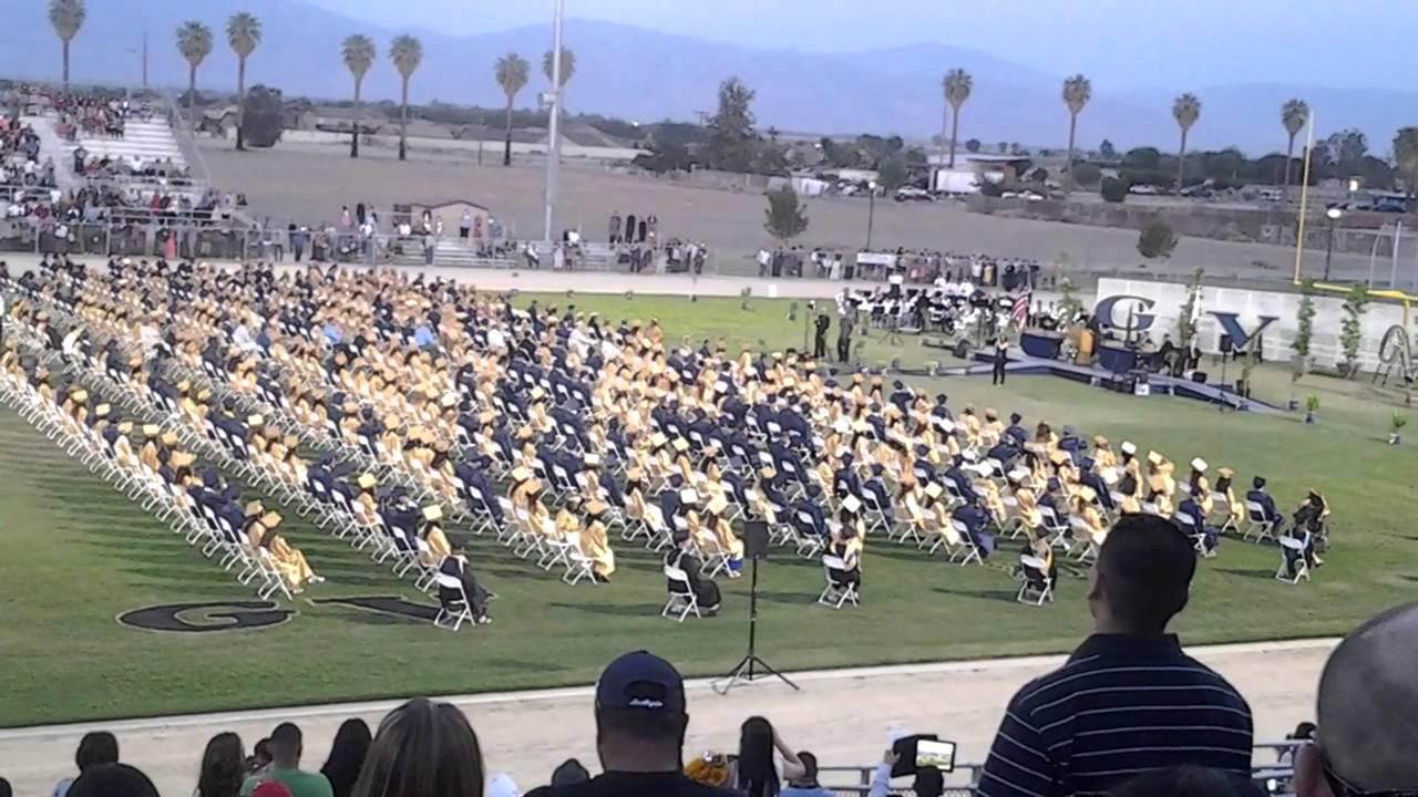 Golden Valley High School 2014 Graduation Youtube