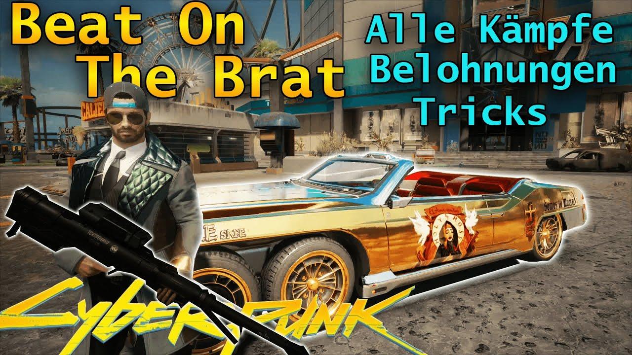 Download SCHLAGE ALLE BOSSE! Beat On The Brat // Belohnungen & Tricks // Razor Easy // Cyberpunk 2077