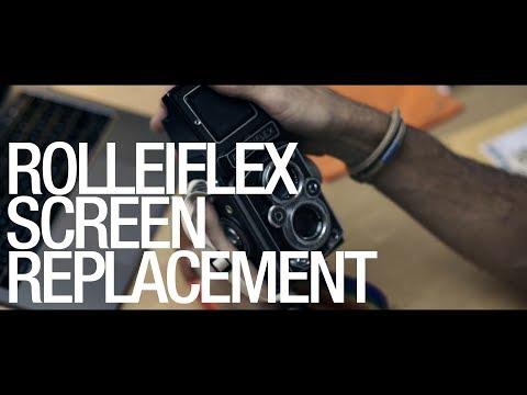 Rolleiflex K4B2 Focusing Screen Swap