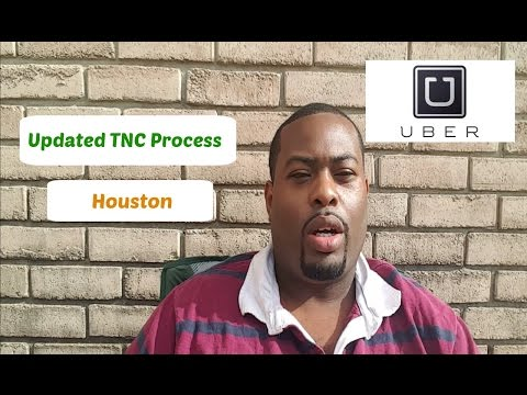 Uber Houston TNC Process UPDATE | Great news for drivers