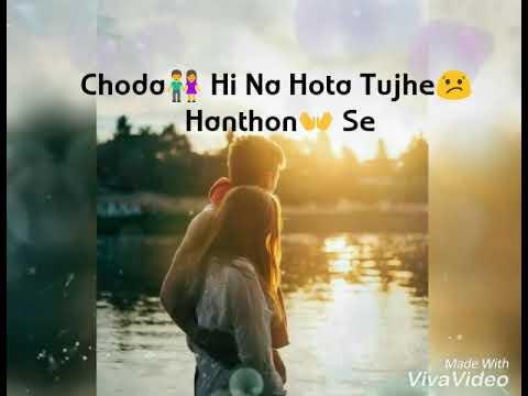 Aaya Na Tu Reprise   Arjun Kanungo   Lyrical Video   WhatsApp Status