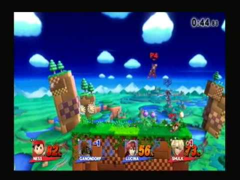 Super Smash Bros  Wii U Sudden Death   For Glory Team Smash {883}