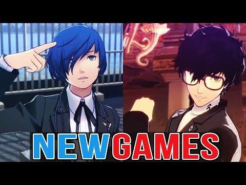 3 NEW PERSONA GAMES! - P3 Dancing Moon Night -  P5 Dancing Star Night  - Persona Q2
