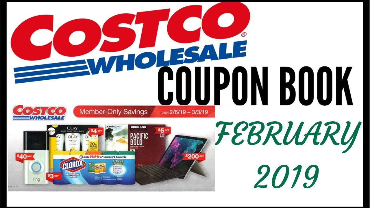 Costco Coupon Book