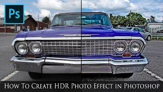 Photoshop HDR Fotoğraf Efekti Oluşturma - Photoshop CC Eğitimi