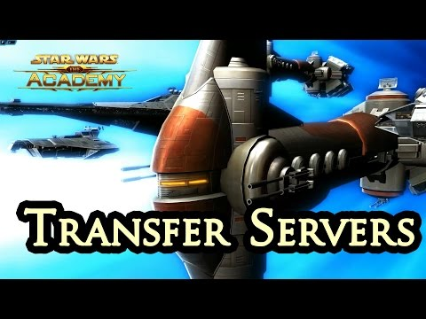 How to Transfer Servers in SWTOR - The Academy