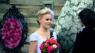 Свадебная видеосъемка. Самые юные жених и невеста