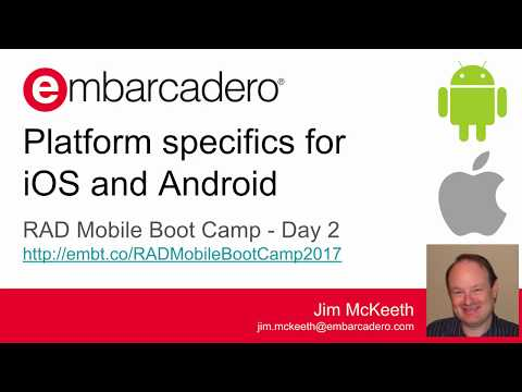 RAD Mobile Boot Camp - Day 2