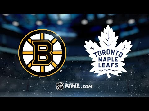Maple Leafs edge Bruins on Hainsey's late goal