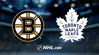 Maple Leafs edge Bruins on Hainsey