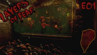 The Bloody Canvas | Lets Play Layers Of Fear Gameplay Walkthrough | Psychedelic Indie Horror | #01 YouTube Videos