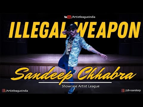 ☆ ILLEGAL WEAPON ▶︎ SANDEEP CHHABRA ★ ARTIST LEAGUE LUCKNOW ★ ARTIST LEAGUE INDIA