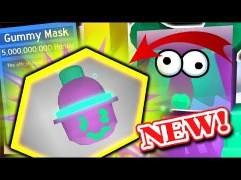 CRAFTING SUPER *OP* GUMMY MASK, GUMMY MORPH = SO MUCH GOO! | Roblox Bee Swarm Simulator