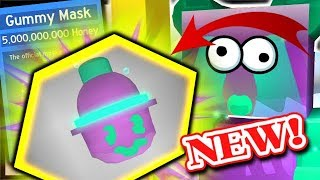 CRAFTING SUPER *OP* GUMMY MASK, GUMMY MORPH = SO MUCH GOO! | Roblox Bee Swarm Simulator