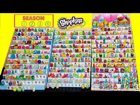 544 Shopkins Seasons 1,2,3,4 !!   Me and my kids